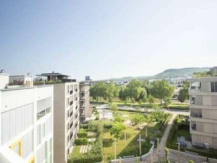 3D-Immobilie:*Helle, großzügige 3,5-Zimmerwohnung mit Balkon und Loggia im Neckarbogen*
