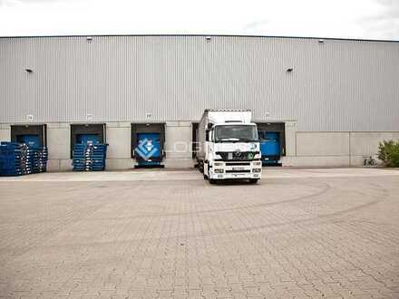 Logistikhalle in Darmstadt