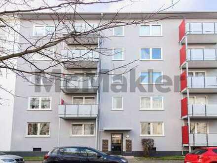Solide Kapitalanlage in Frankfurt am Main: Kernsaniertes 2-Zi.-Apartment mit Balkon in Bornheim