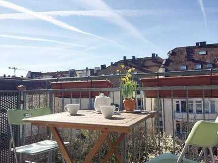 Schöne zwei Zimmer Wohnung in München, Lehel (möbliert)