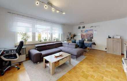 2 Zimmer-Erdgeschoss-Wohnung mit Terrasse und TG-Stellplatz