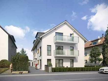 Große NEUBAU-DG-Wohnung in 5-FH in ruhiger Lage von Baden-Oos