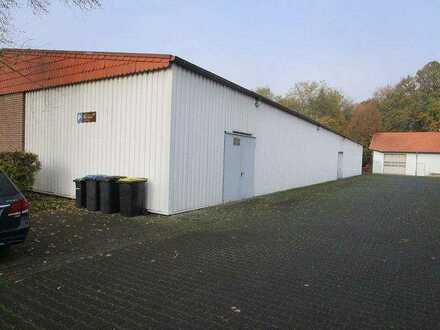 Lagerhalle im Außenbereich von Delbrück-Sudhagen!