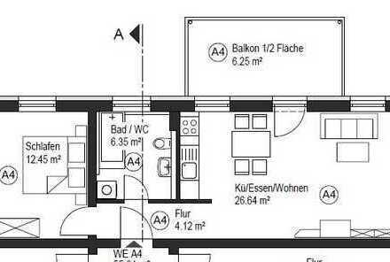 Attraktive Kapitalanlage / vermietete 2 ZKB mit Balkon