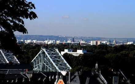 Wohnung mit Blick über Dresden - 3-Zimmer-Dachgeschoss-Wohnung in Dresden-Loschwitz