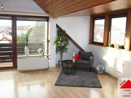Hübsche Single-Wohnung über den Dächern von Ehningen!