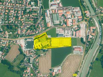 Gewerbeareal als Grundstück oder Mieterbau zu vermieten