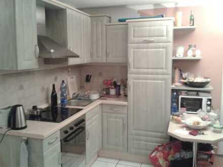 Single Wohnung 2 Zimmer/Kü/Bad StraBa, Süd-Balkon und Einbauküche in Weingarten-Baden