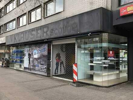 Ladenlokal über 3 Etagen; Mitten im gastronomischen Umfeld der Berliner Str. in Wuppertal.