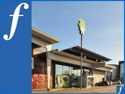 Moderne Ausstellung / Fachhandel * Freifläche möglich * Pkw-Stellplätze