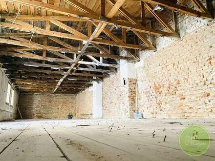 ** AMALIENSuite ** Atelier Haus zum Ausbau ** bis zu 260 qm ** Stellpl. **opt. Dachterrasse **