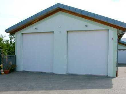 Neuwertiges Gewerbeanwesen (Halle - Garage - EFH) in Löchgau