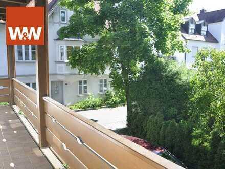 Autofrei Wohnen im Herzen von Paffenhofen - charmante Single-Wohnung mit Balkon!