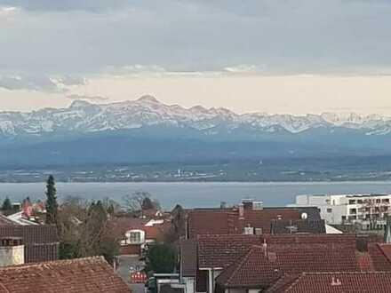 See- und Alpensicht-Baugrundstück in sehr schöner Lage nahe Meersburg!!
