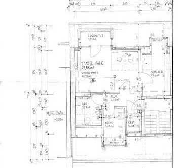 Suche Nachmieter - 1,5-Zimmer-Dachgeschosswohnung mit EBK und Balkon in Eißendorf, Hamburg