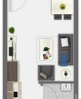 ***Stilvolle, modernisierte Wohnung mit Balkon und Einbauküche in Germersheim***