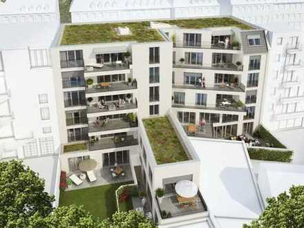 Neubau-Dachgeschosswohnung in Sülz/Lindenthal