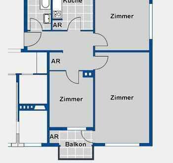 Schöne 2 1/2 Zimmer Wohnung mit Loggia - Besichtigung am 19.02.2019 um 16:30 Uhr