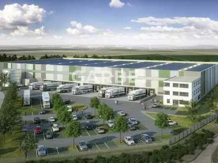 Direkt vom Eigentümer: ca. 3.300 m² Neubau-Logistikhalle, 10 m UKB, provisionsfrei