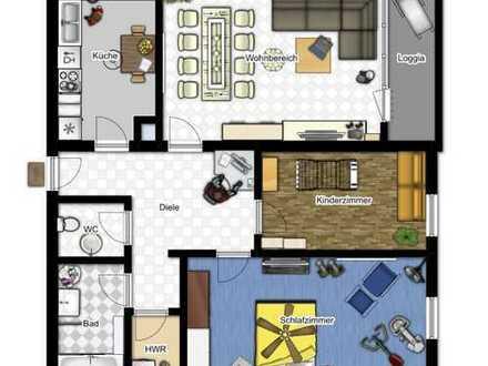 Ruhige 3-Zimmer-Wohnung in WEN