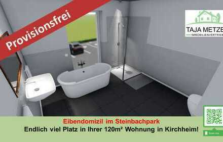 Ihr Eibendomizil im Steinbachpark Endlich viel Platz in Ihrer 4- Zimmer Wohnung mit Sonnenbalkon un