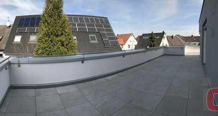 Hier werden Penthouseträume wahr - Neubau - Pentousewohnung mit großer Dachterasse