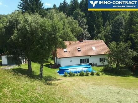Wohlfühlhaus in Grünlage mit ca 1ha Eigengrund
