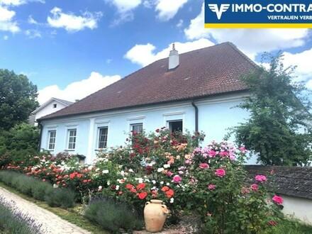 Stadthaus mit Arkadengang und begrüntem Innenhof - teilweise sanierungsbedürftig