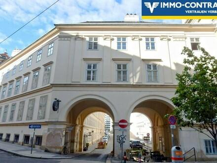 Botschaftsviertel - Unbefristet und Ablösefrei - Dachgeschoss-Wohnung mit Galerie