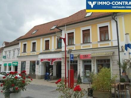 Gute Rendite - Geschäfts- und Wohnhaus im Zentrum von Fürstenfeld