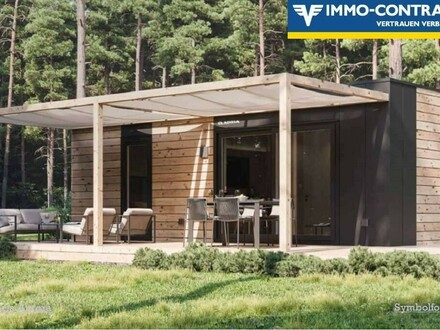 Naturnahes Wohnen in Ihrem Luxus Mobilheim 52 m² am Edlersee - Geras - Provisionsfrei!