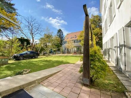 Gartenbüro, hell und ruhig in bester Grinziger Lage // Garden office, bright and quiet in best Ginzing location //