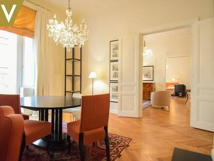 Geschmackvoll möbliertes Apartment im Servitenviertel // Tastefully Furnished Apartment in the 9th District //