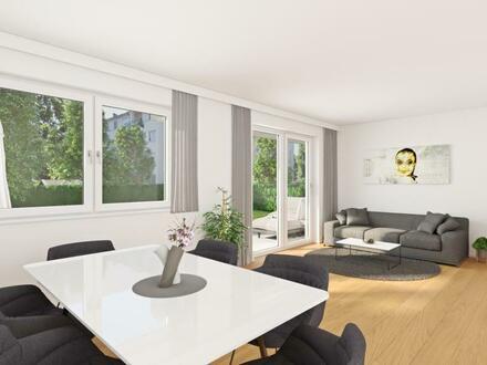 Bauvorhaben Gorianstraße / Riedenburg - Top 1 - 3 Zimmer mit Garten