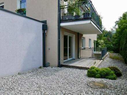 Gemütliche 2 Zimmer Maisonettewohnung mit Terrasse/Garten in Leopoldskron