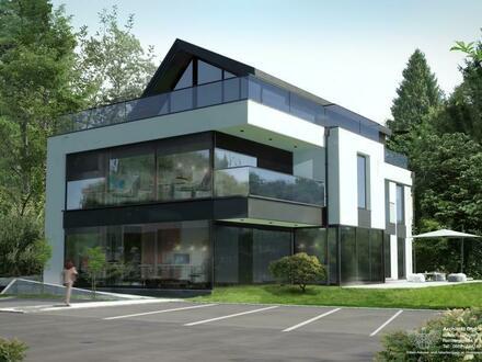 Fernblick in Anif: 3 Zimmer Dachgeschoss Wohnung mit großer Terrasse