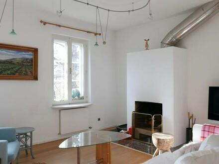 Altbauwohnung mit Stil - 78 m² - 2 Zimmer - offener Kamin und Festungsblick