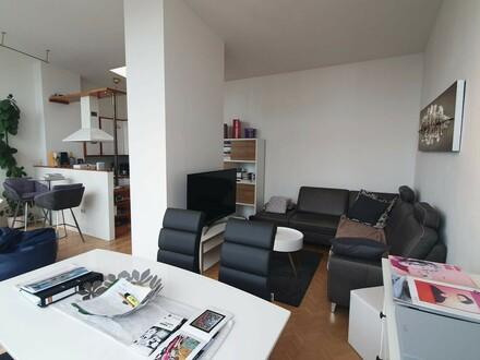 Salzburg Josefiau: Einzigartige, hübsche Penthouse-Wohnung, ca. 62 qm plus 17 qm Dachterrasse mit Lift und Tiefgarage i…