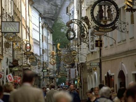 Salzburg: top Location für Gastro oder Shop im Herzen der Altstadt in sehr frequentierter Lage Nähe Getreidegasse