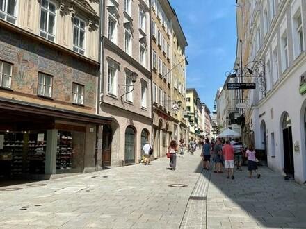 Salzburg Altstadt: Wohn- und Geschäftshaus, langfristiges Immo-Investment, top Zustand
