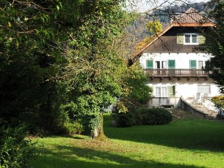 Salzburg Aigen - sehr attraktiver Baugrund 2.495 m² (mit Altobjekt), Wohnen in exklusiver Sonnenlage