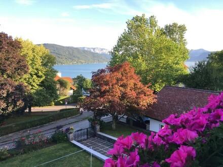 Landhaus im typischen Atterseestil mit zwei Wohneinheiten in bester Lage von Seewalchen a. A.