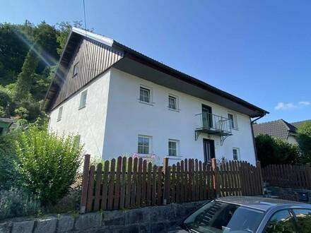 Wohnhaus mit Aussicht zum Inn