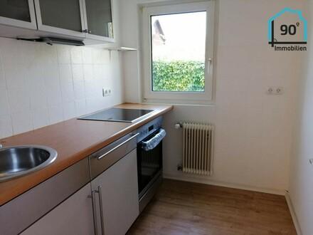 Helle freundliche 3 Zimmer Wohnung mit Garage und Gartenanteil