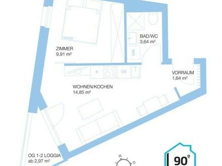 WIEN - Neubau Anlegerwohnung in Wien-Donaustadt