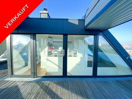 Cooles Designer-Penthouse mit Traum-Terrassen!