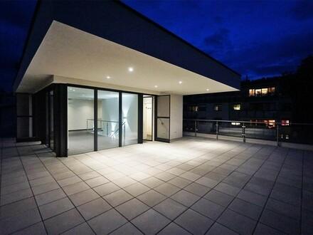 Exklusive Penthouse-Maisonette mit Dachterrasse am Wolfersberg
