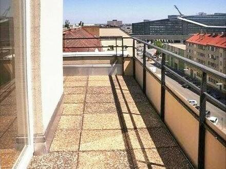 Single-Hit mit großzügiger Dachterrasse - Nähe Marx Halle