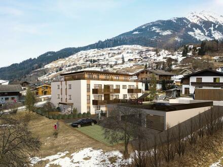 Zirmkogelblick Niedernsill - Top 15 -Dachgeschosswohnung - 104m² Dachterrasse - Westseite