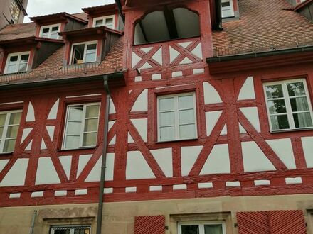 Fürth, Altstadt, romantisches 1 - Zimmer-Apt. mit Loggia,. 30 qm,